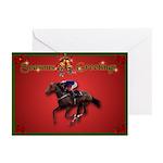 Race Horse Xmas Cards (Pk of 10)