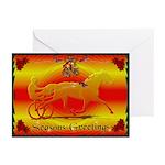 Trotter Seasons Greetings Cards (Pk of 10)