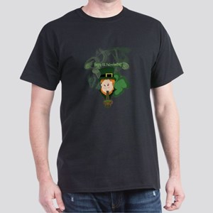 Smoking Leprechaun Dark T-Shirt