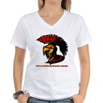 The Spartan 2 Women's V-Neck T-Shirt