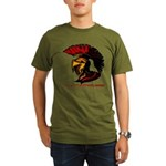 The Spartan 2 Organic Men's T-Shirt (dark)
