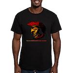 The Spartan 2 Men's Fitted T-Shirt (dark)