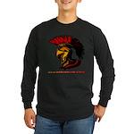 The Spartan 2 Long Sleeve Dark T-Shirt