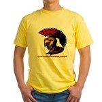 The Spartan 2 Yellow T-Shirt