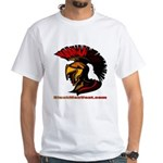 The Spartan 2 White T-Shirt