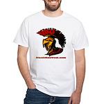 The Spartan 2 White T-Shirt