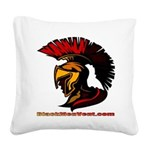 The Spartan 2 Square Canvas Pillow