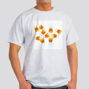 Candy Corn Ash Grey T-Shirt