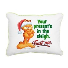 Trust Me Rectangular Canvas Pillow