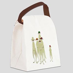 Meerkats Canvas Lunch Bag