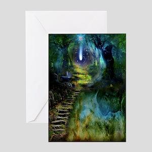 Mystical Entry Blank Art Card