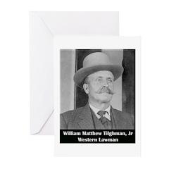Marshal Bill Tilghman Greeting Cards (Pk of 10)