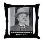 Marshal Bill Tilghman Throw Pillow