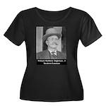 Marshal Bill Tilghman Women's Plus Size Scoop Neck