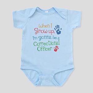 Future Correctional Officer Infant Bodysuit