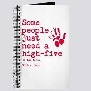 High Five in the face Journal