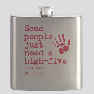 High Five in the face Flask