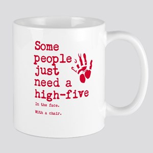 High Five in the face Mug
