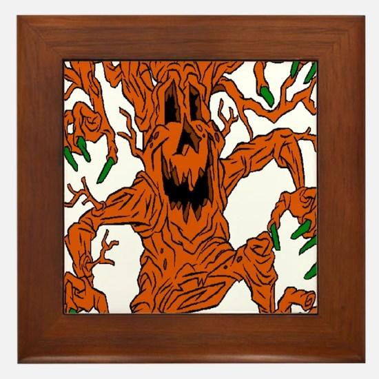 Animated Tree Framed Tile