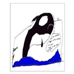 In Honor of Luna the Killer Whale Small Poster
