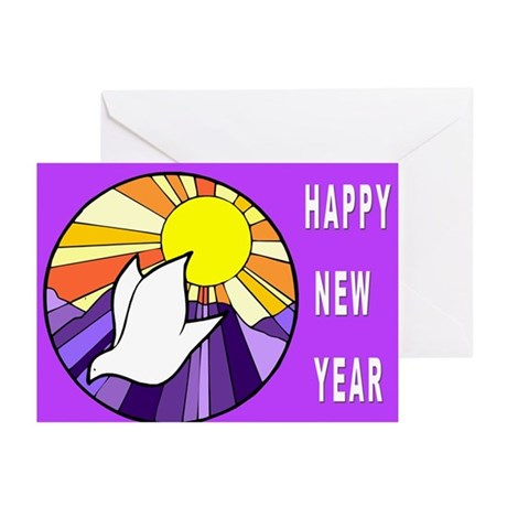 Jewish New Year of Peace Greeting Cards (Pk of 10)