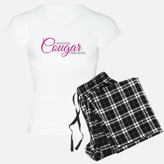 I prefer the term Cougar Pajamas