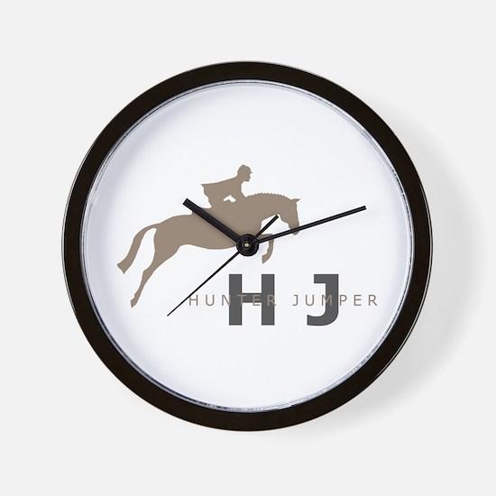 h/j horse Wall Clock