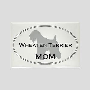 Wheaten Terrier MOM Rectangle Magnet