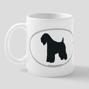 Wheaten Terrier Silhouette Mug