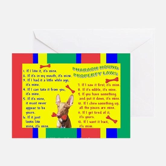 Pharaoh Hound Greeting Cards (Pk of 10)