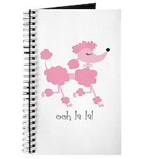 ooh la la poodle Journal
