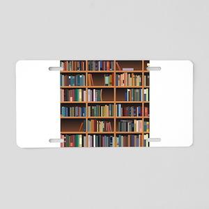 Bookshelf Aluminum License Plate