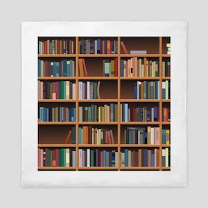 Bookshelf Queen Duvet