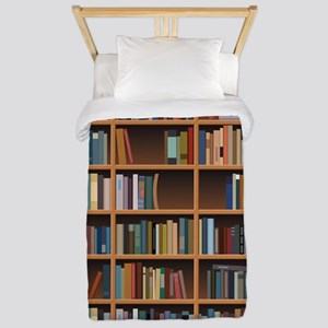 Bookshelf Twin Duvet