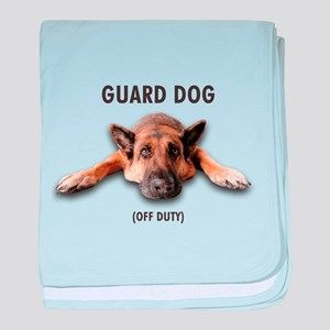 Guard Dog baby blanket
