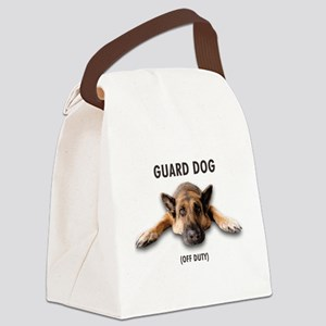 Guard Dog Canvas Lunch Bag