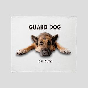 Guard Dog Throw Blanket