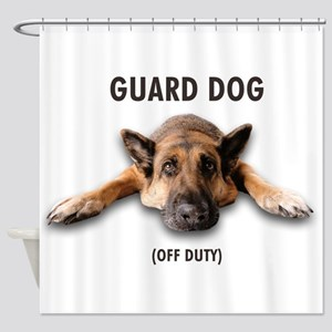Guard Dog Shower Curtain
