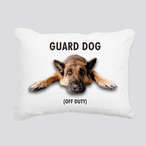 Guard Dog Rectangular Canvas Pillow