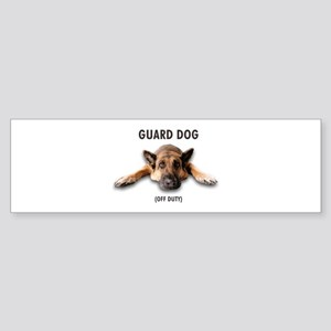 Guard Dog Sticker (Bumper)