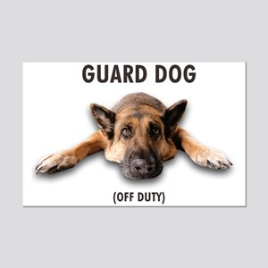 Guard Dog Mini Poster Print