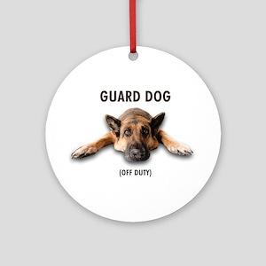 Guard Dog Ornament (Round)