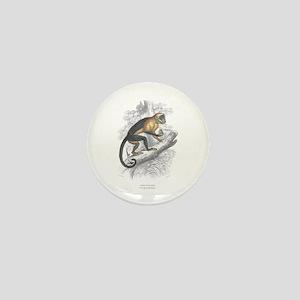 Sapajou Monkey Mini Button