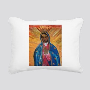 Guadalupe Rectangular Canvas Pillow