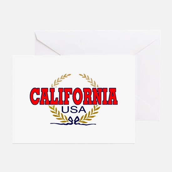 CALIFORNIA Greeting Cards (Pk of 10)