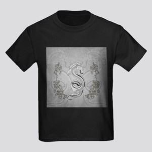 Chinese dragon in black and white T-Shirt