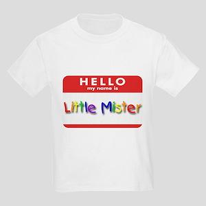 Little Mister Kids T-Shirt