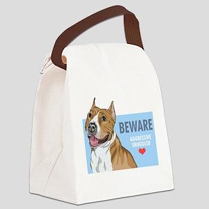Aggressive Snuggler Canvas Lunch Bag