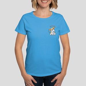Pocket Bulldog IAAM Women's Dark T-Shirt