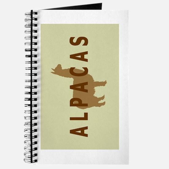 alpacas gifts & t's (sage/br) Journal
